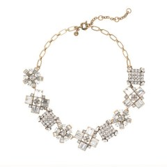 J Crew Crystal Crush Necklace