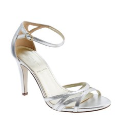 J Crew Metallic Leather High-Heel Sandal