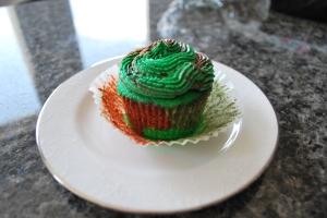 Camo Cupcake 4