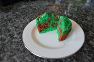 Camo Cupcake 5